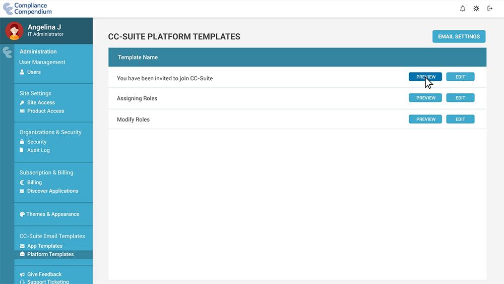 Platform Templates - Preview - Compliance Compendium - GDPR